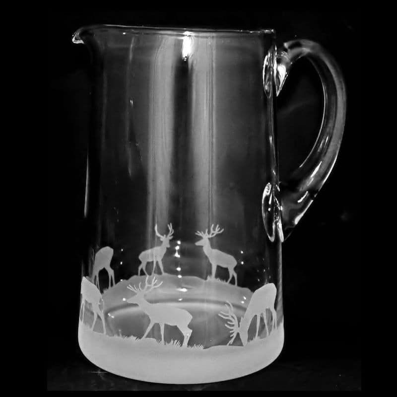 STAG  Large 1.7 Litre Glass Tapered Jug