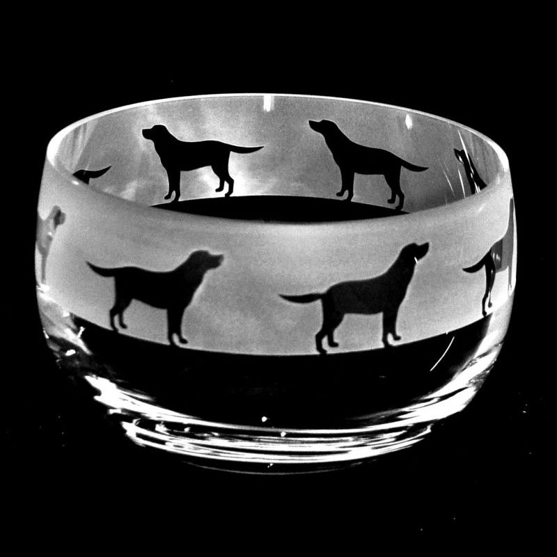 LABRADOR Small Crystal Glass Bowl