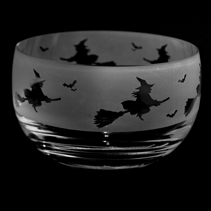WITCH Small Crystal Glass Bowl