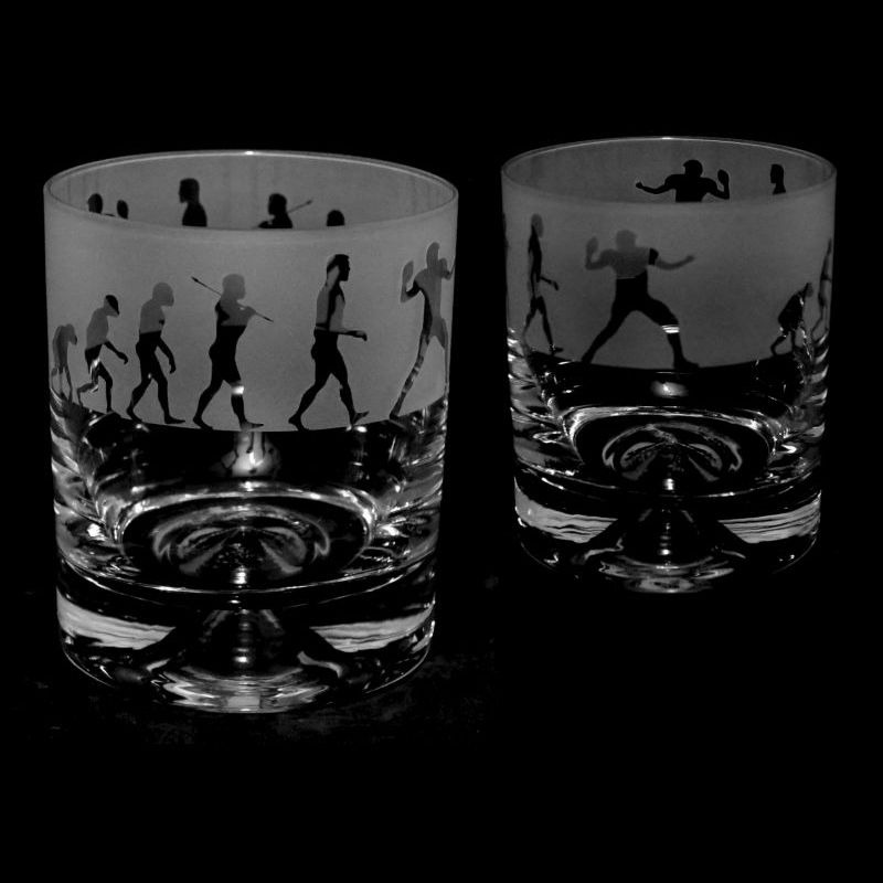 EVOLUTION – AMERICAN FOOTBALL – Whisky Tumbler