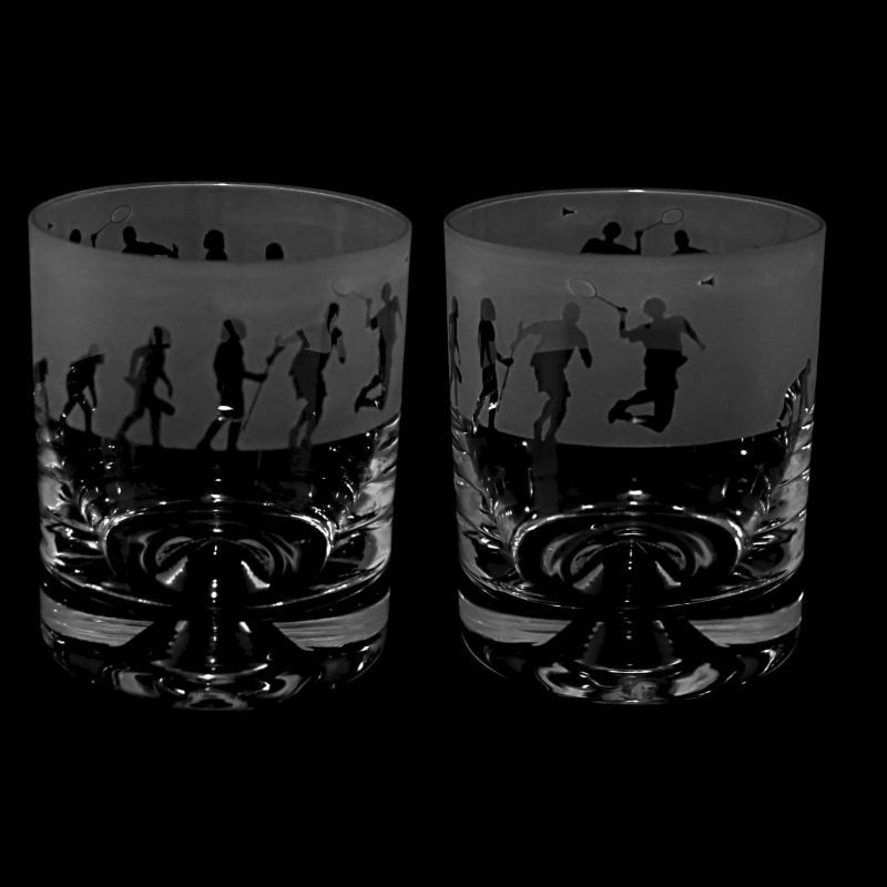 EVOLUTION – BADMINTON – Whisky Tumbler