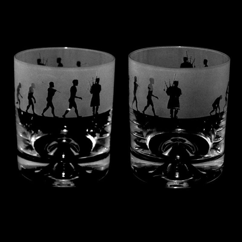 EVOLUTION – BAGPIPER – Whisky Tumbler