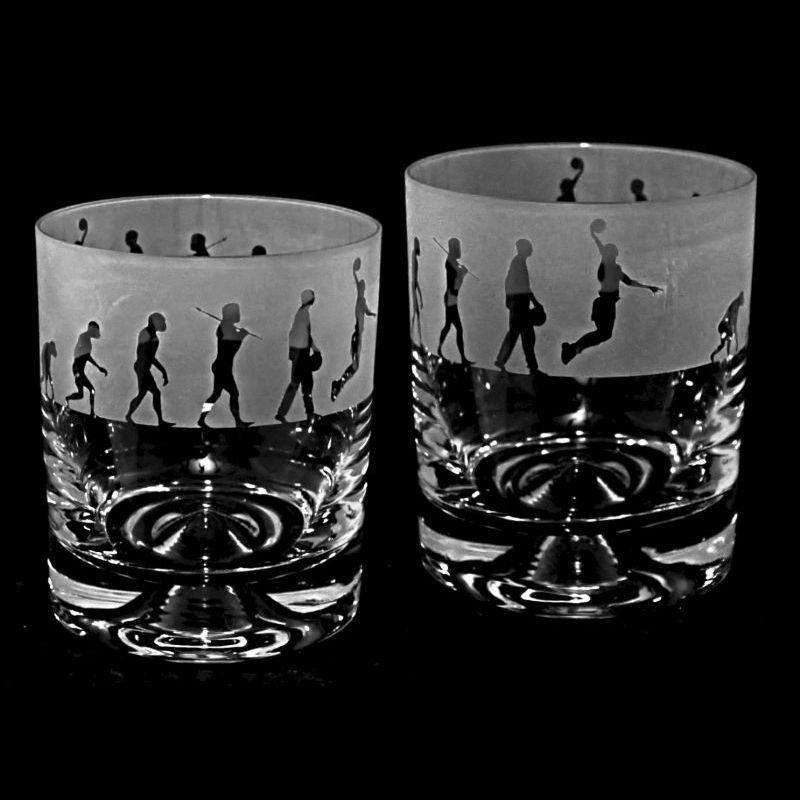 EVOLUTION – BASKETBALL – Whisky Tumbler