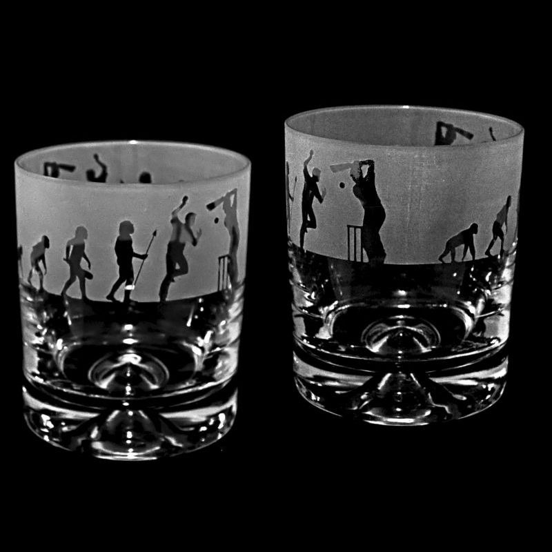 EVOLUTION – CRICKET – Whisky Tumbler
