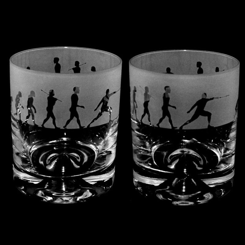 EVOLUTION – FENCING – Whisky Tumbler