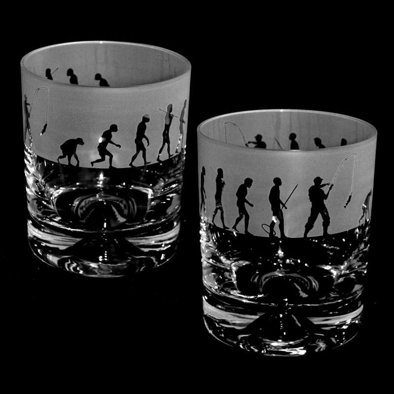 EVOLUTION – FISHING – Whisky Tumbler