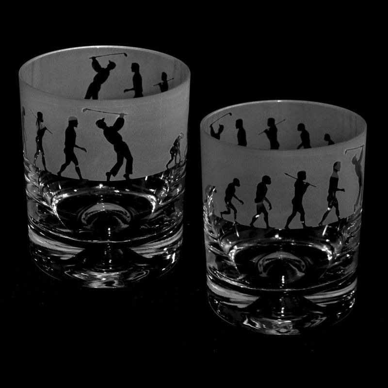 EVOLUTION – GOLF – Whisky Tumbler