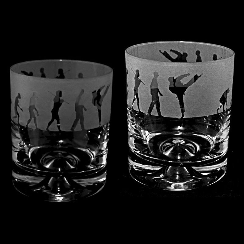 EVOLUTION – KARATE – Whisky Tumbler