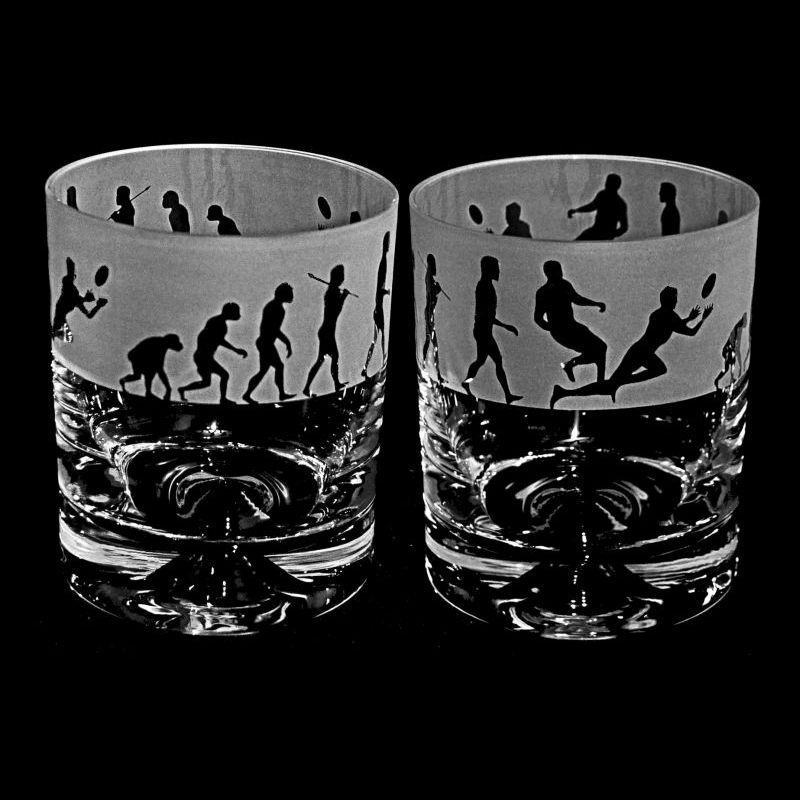 EVOLUTION – RUGBY – Whisky Tumbler