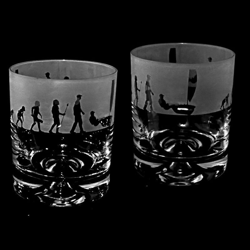 EVOLUTION – RUNNER – Whisky Tumbler