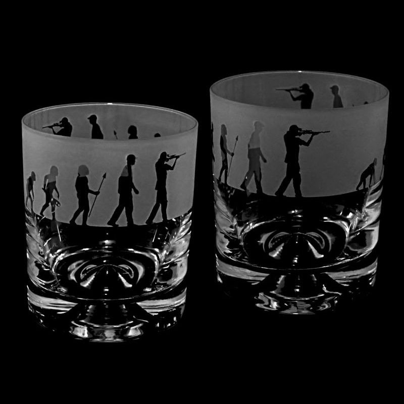 EVOLUTION – SHOOTING – Whisky Tumbler