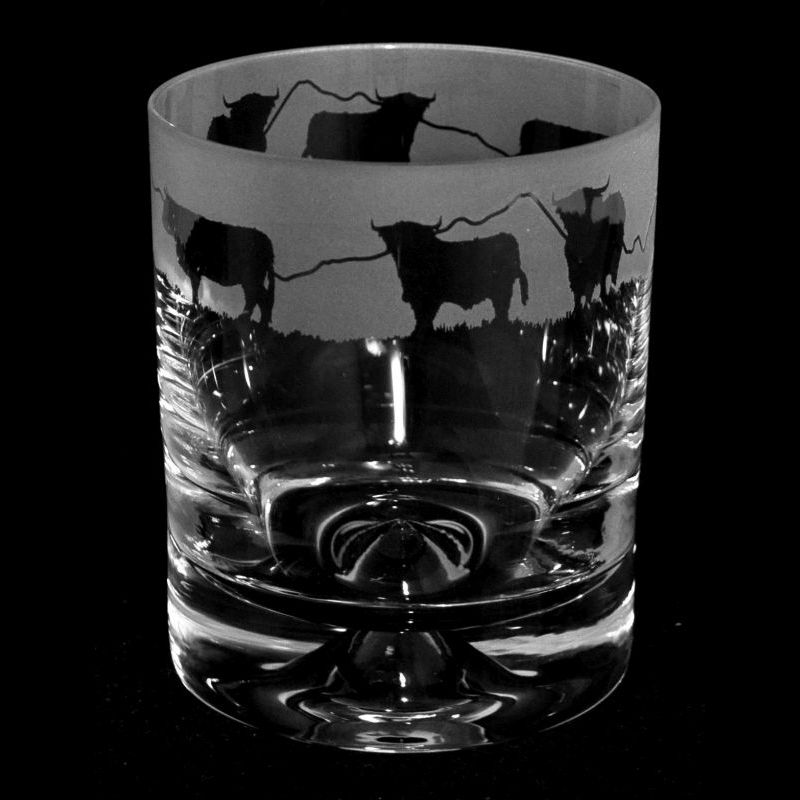 HIGHLAND CATTLE Whisky Tumbler