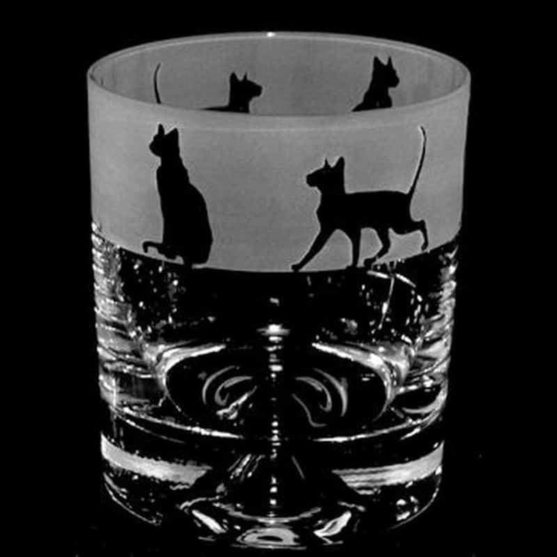SIAMESE CAT Whisky Tumbler