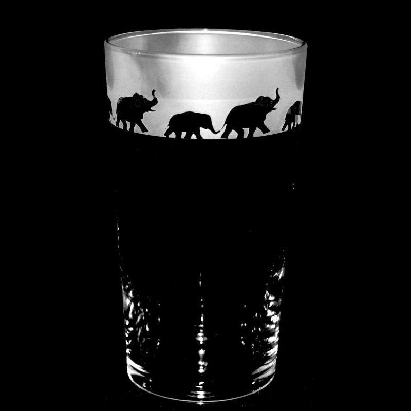 ELEPHANT Conical Pint Glass 57cl