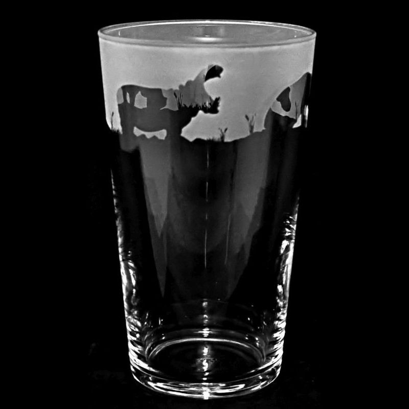HIPPO Conical Pint Glass 57cl