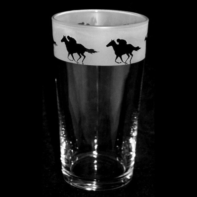 RACEHORSE Conical Pint Glass 57cl