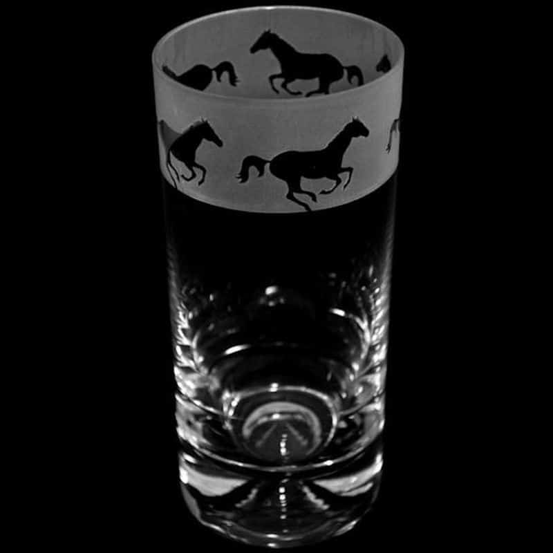 GALLOPING HORSE Highball Tumbler