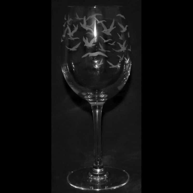 FLOCK Crystal Wine Glass 24.5cl