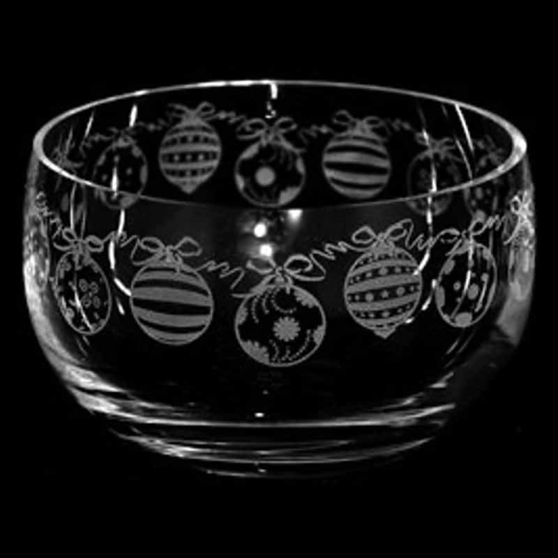 BAUBLES Small Crystal Glass Bowl
