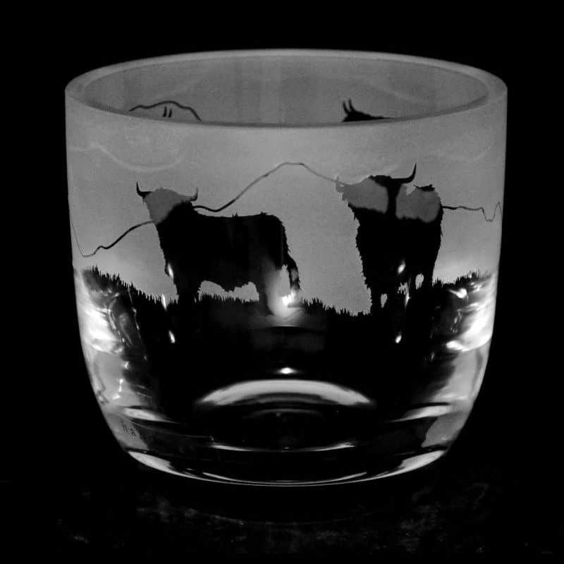 HIGHLAND CATTLE Large Candle Pot