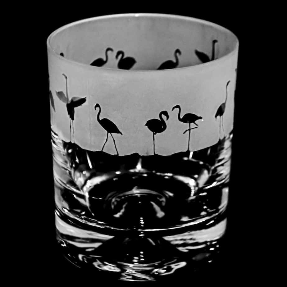 FLAMINGO Whisky Tumbler