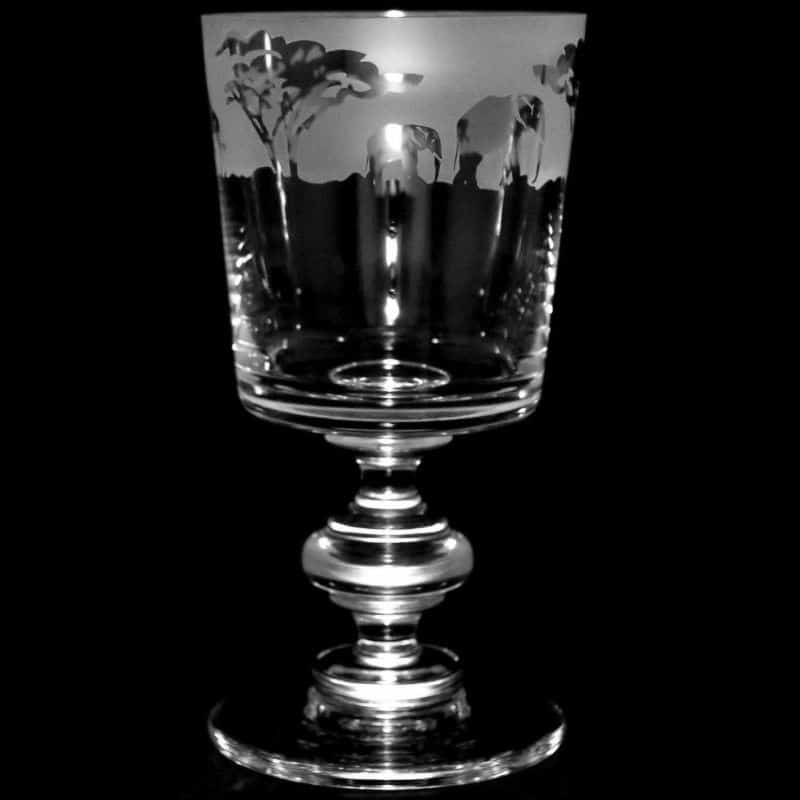 SAFARI Crystal Chalice Goblet 30cl