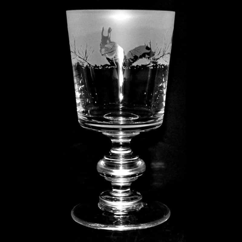 SQUIRREL Crystal Chalice Goblet 30cl