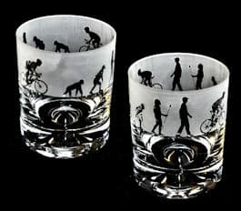 EVOLUTION – CYCLIST – Whisky Tumbler
