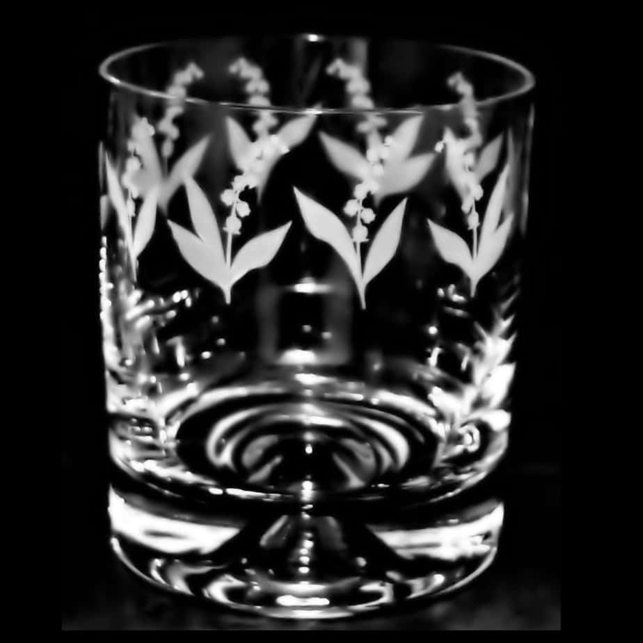LILY OF THE VALLEY Whisky Tumbler