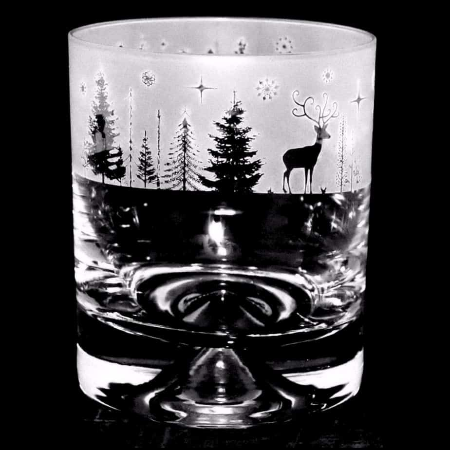 WINTER WONDERLAND Whisky Tumbler