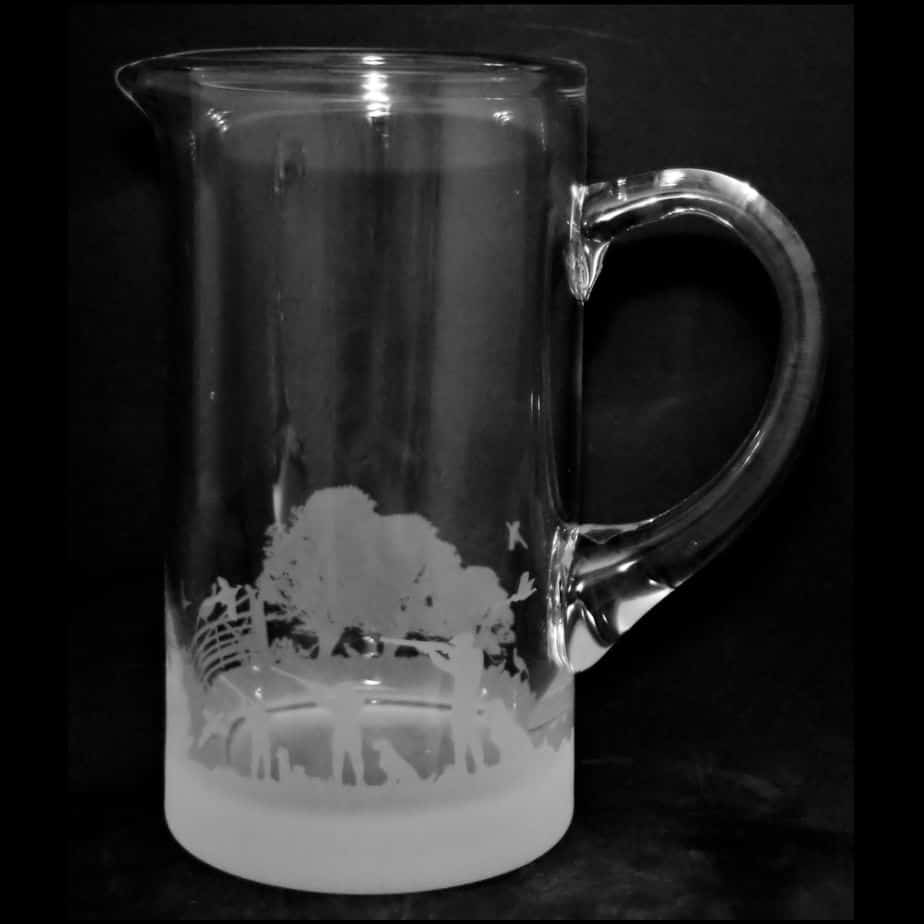 COUNTRY LIFE SHOOTING SCENE Water Jug 1 Litre