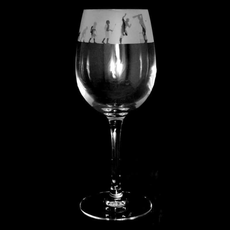 CRICKET EVOLUTION 35cl Crystal Wine Glass