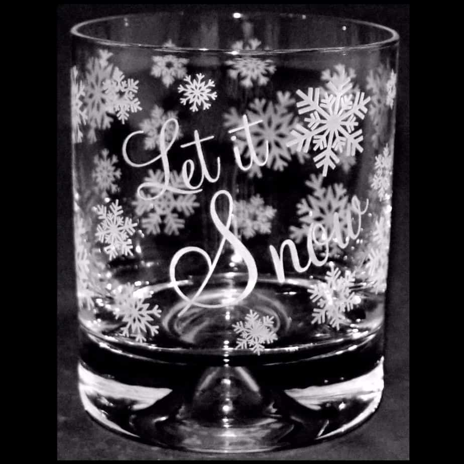 LET IT SNOW Whisky Tumbler