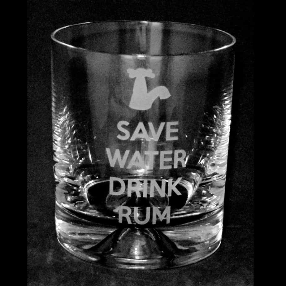 SAVE WATER DRINK RUM Tumbler