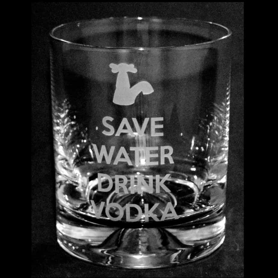 SAVE WATER DRINK VODKA Tumbler