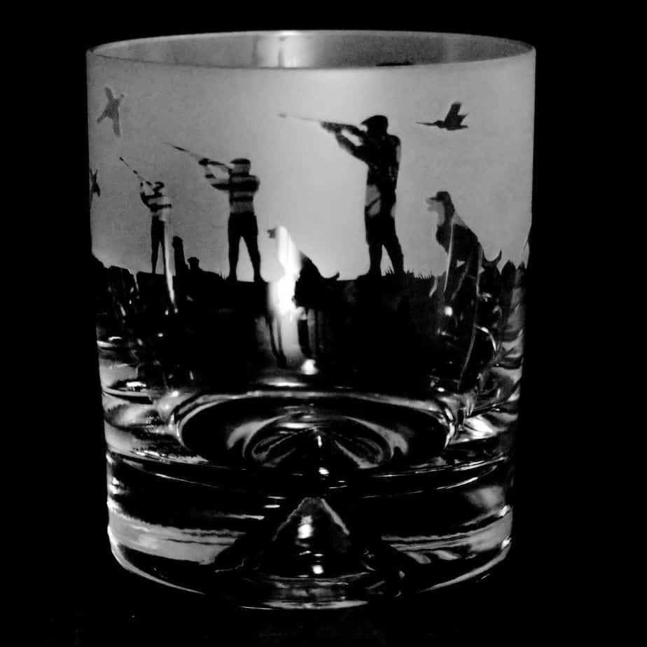 SHOOTING SCENE Whisky Tumbler