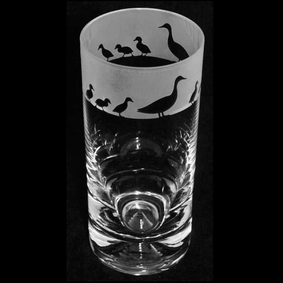 DUCKS Highball Glass