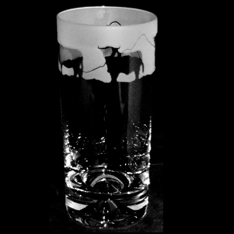 HIGHLAND CATTLE Highball  Tumbler