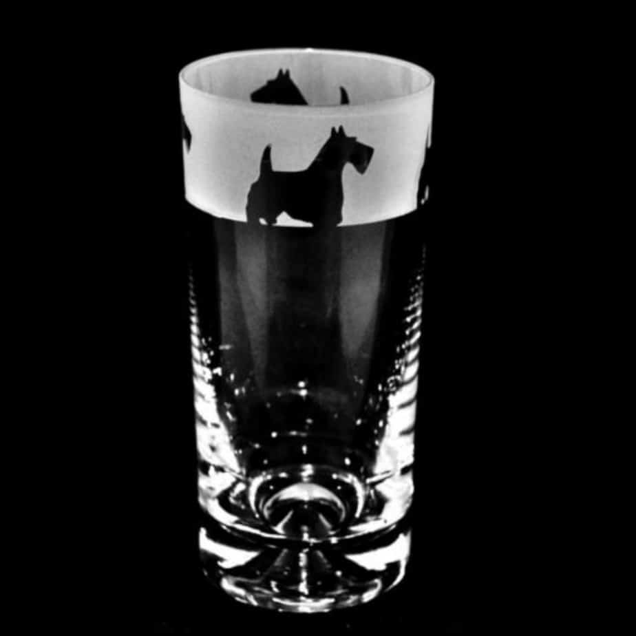 SCOTTIE DOG Highball Glass