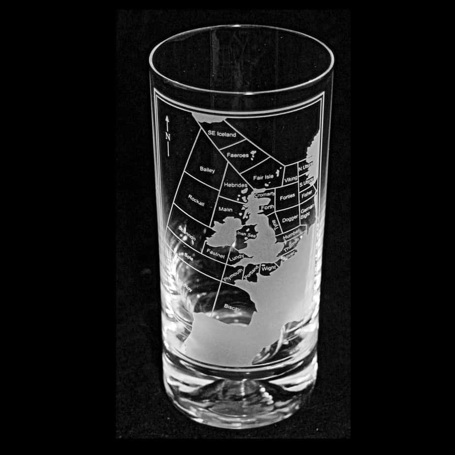 SHIPPING FORECAST Highball Glass