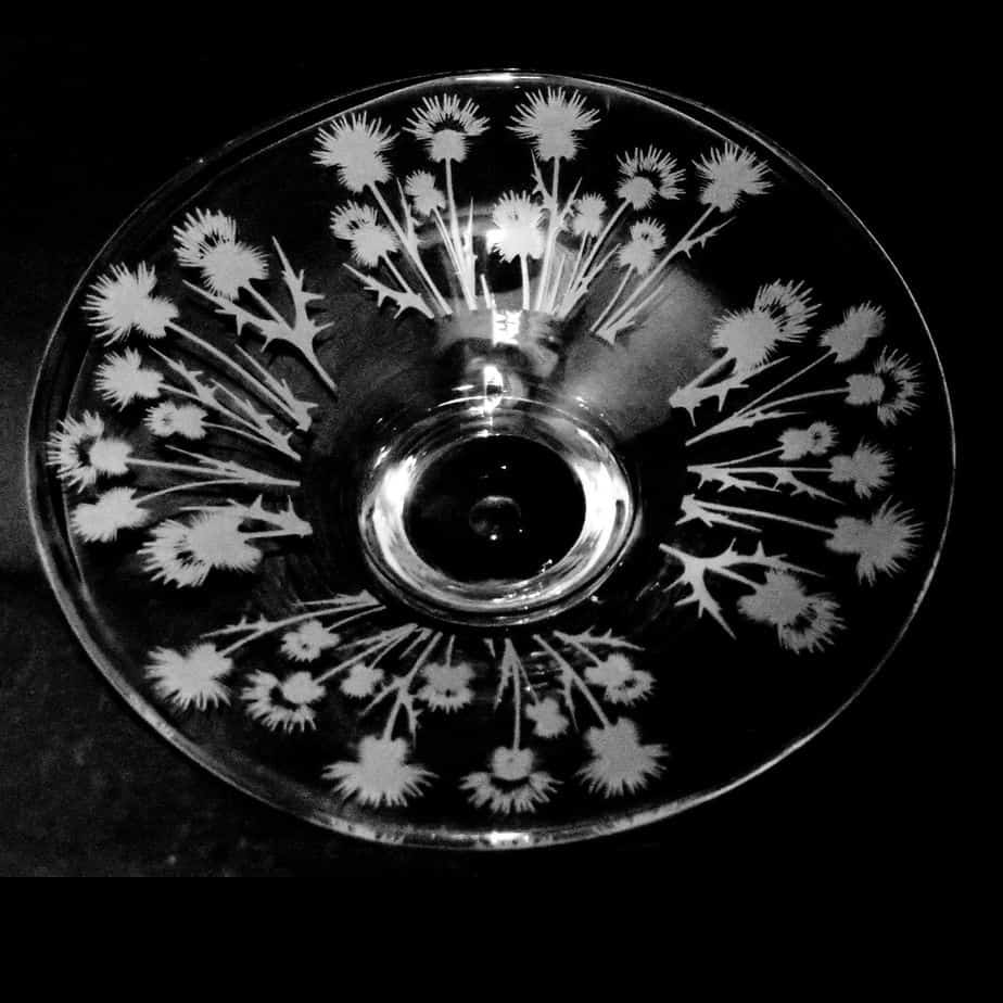 THISTLE Small Glass Platter
