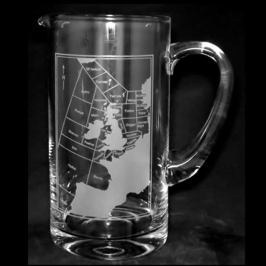 SHIPPING FORECAST AREA Water Jug 1 Litre