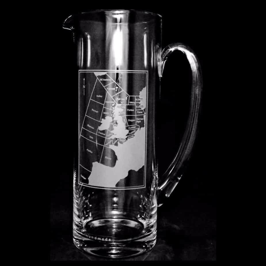 SHIPPING FORECAST AREA Water Jug 1.5 Litre