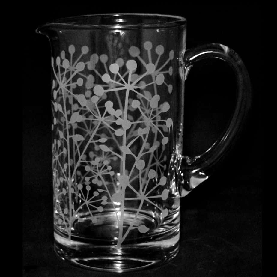 COW PARSLEY Water Jug 1 Litre