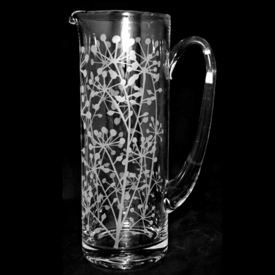 COW PARSLEY 1.5 Litre Glass Jug