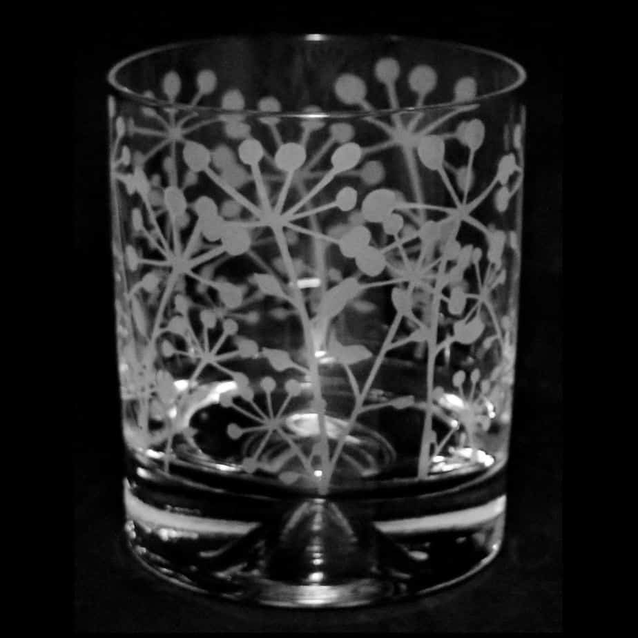 COW PARSLEY Whisky Tumbler