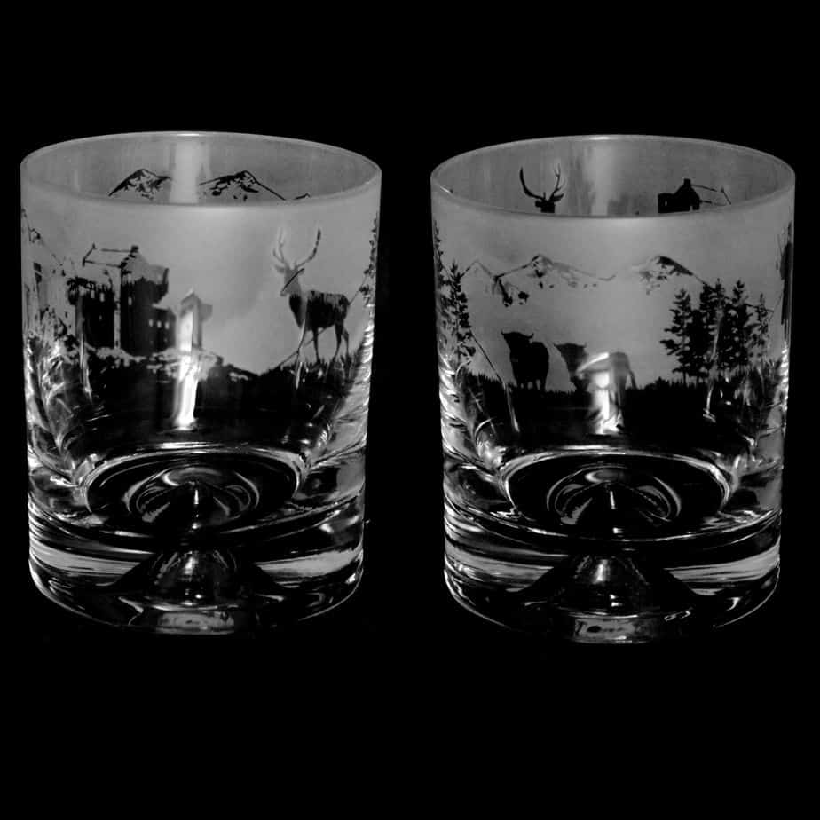 SCOTTISH SCENE Whisky Tumbler