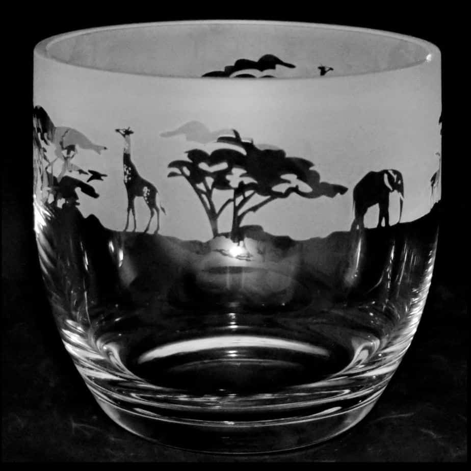 SAFARI Large Candle Pot