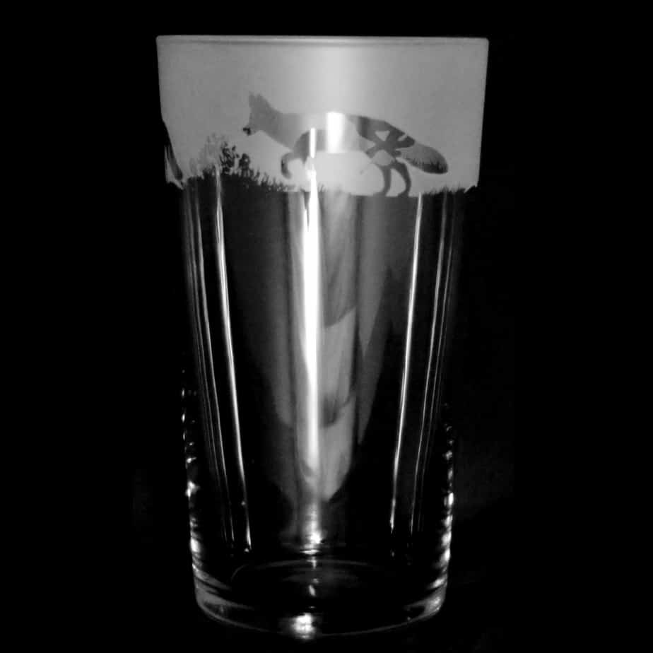 FOX Conical Pint Glass 57cl
