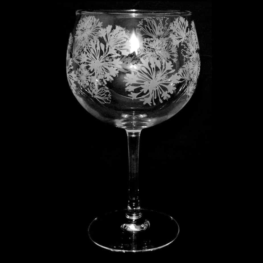AGAPANTHUS 70cl Gin Balloon Glass